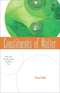 book cover for constituents of matter featuring painting of subatomic particles in cloud chamber